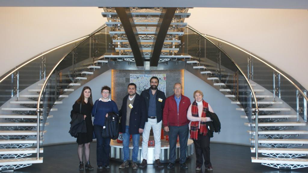 Mitglieder der Universität Ege bei Polat